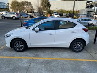 2020 Mazda 2 DJ2HAA G15 SKYACTIV-Drive Pure Snowflake White Pearl 6 Speed Sports Automatic Hatchback.