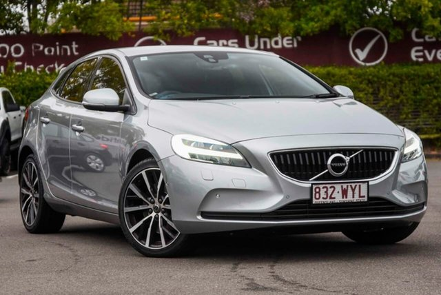 Used Volvo V40 M Series MY16 T3 Adap Geartronic Kinetic, 2016 Volvo V40 M Series MY16 T3 Adap Geartronic Kinetic Silver, Chrome 6 Speed Sports Automatic