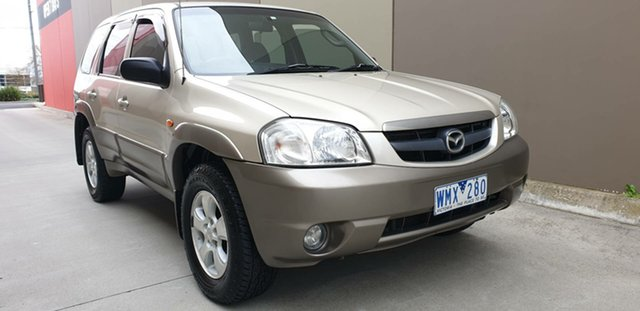 Used Mazda Tribute MY2003 Classic Cheltenham, 2003 Mazda Tribute MY2003 Classic Gold 4 Speed Automatic Wagon