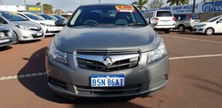 2010 Holden Cruze JG CD Grey 6 Speed Sports Automatic Sedan.