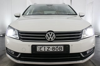 2012 Volkswagen Passat Type 3C MY12.5 V6 FSI DSG 4MOTION Highline White 6 Speed.