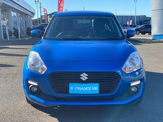 Suzuki Swift GL Navigator Blue Constant Variable Hatchback.