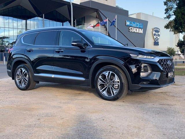 Demo Hyundai Santa Fe TM.2 Highlander, 2020 Hyundai Santa Fe TM.2 Highlander Black Sports Automatic Wagon