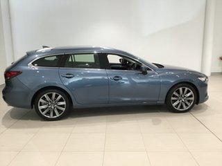 2019 Mazda 6 GL1033 GT SKYACTIV-Drive Blue Reflex 6 Speed Sports Automatic Wagon.