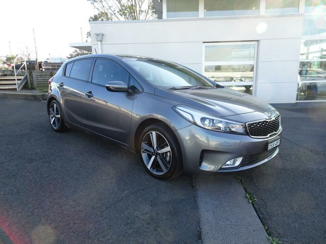 Used Kia Cerato YD MY18 Sport, 2017 Kia Cerato YD MY18 Sport Metal Stream 6 Speed Sports Automatic Hatchback