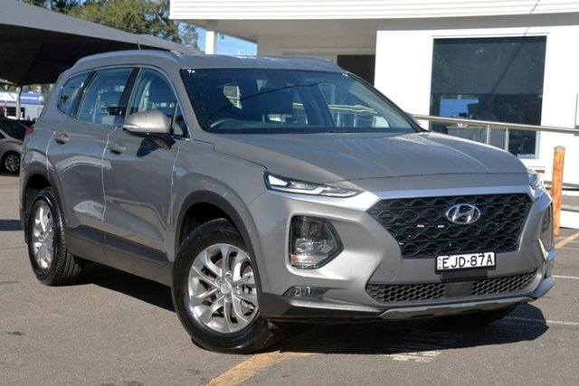 Used Hyundai Santa Fe TM MY19 Active, 2018 Hyundai Santa Fe TM MY19 Active Grey 8 Speed Sports Automatic Wagon
