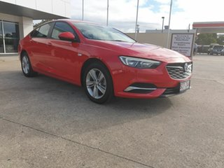 2017 Holden Commodore LT Red 9 Speed Automatic Hatchback.