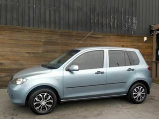 2004 Mazda 2 DY10Y1 Neo Blue 4 Speed Automatic Hatchback