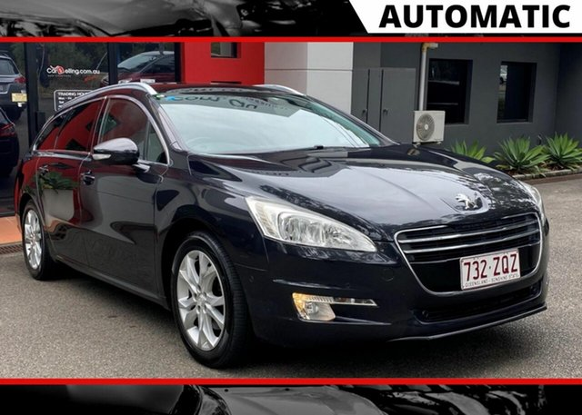 Used Peugeot 508  Allure Touring, 2011 Peugeot 508 Allure Touring Black 6 Speed Sports Automatic Wagon