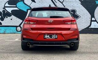 2020 Hyundai i30 PD.3 MY20 N Line Premium Lava Orange 7 Speed Auto Dual Clutch Hatchback