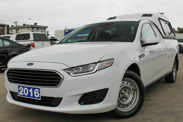 Used Ford Falcon FG X Ute Super Cab, 2016 Ford Falcon FG X Ute Super Cab White 6 Speed Sports Automatic Utility