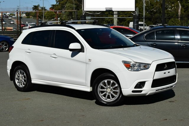Used Mitsubishi ASX XA (2WD) Underwood, 2011 Mitsubishi ASX XA (2WD) White 5 Speed Manual Wagon
