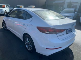 2017 Hyundai Elantra AD MY18 Active White 6 Speed Sports Automatic Sedan.