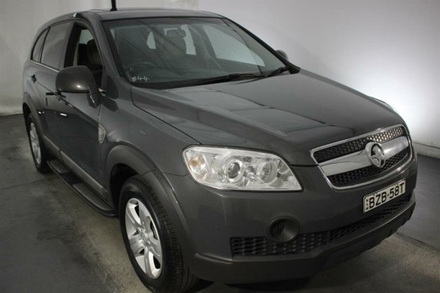 Used Holden Captiva CG MY10 SX, 2010 Holden Captiva CG MY10 SX Grey 5 Speed Sports Automatic Wagon