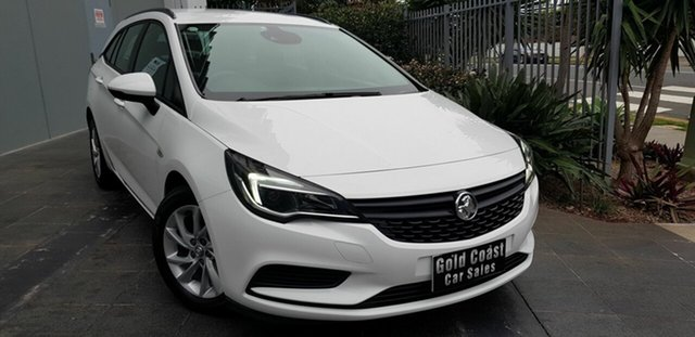 Used Holden Astra BK MY18 LS Plus, 2017 Holden Astra BK MY18 LS Plus White 6 Speed Automatic Sportswagon