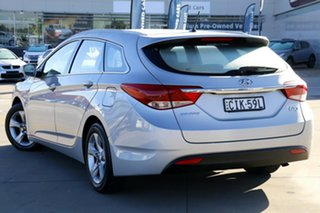 2011 Hyundai i40 VF Active Tourer Silver 6 Speed Sports Automatic Wagon.