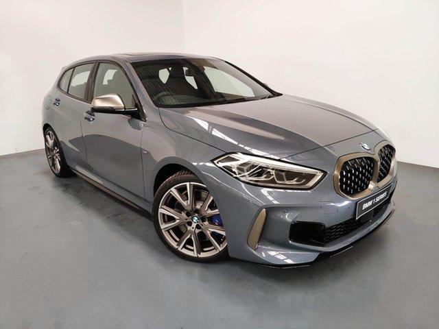 Demo BMW 1 Series F40 M135i Steptronic xDrive, 2019 BMW 1 Series F40 M135i Steptronic xDrive Storm Bay Metallic 8 Speed Sports Automatic Hatchback