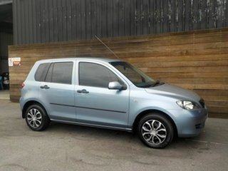 2004 Mazda 2 DY10Y1 Neo Blue 4 Speed Automatic Hatchback.
