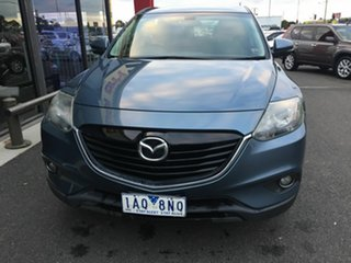 2013 Mazda CX-9 MY14 Classic (FWD) Blue 6 Speed Auto Activematic Wagon.