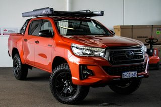 2018 Toyota Hilux GUN126R Rogue Double Cab Inferno 6 Speed Sports Automatic Utility.