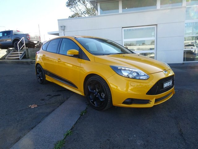 Used Ford Focus LW MkII ST, 2013 Ford Focus LW MkII ST Tangerine Scream 6 Speed Manual Hatchback