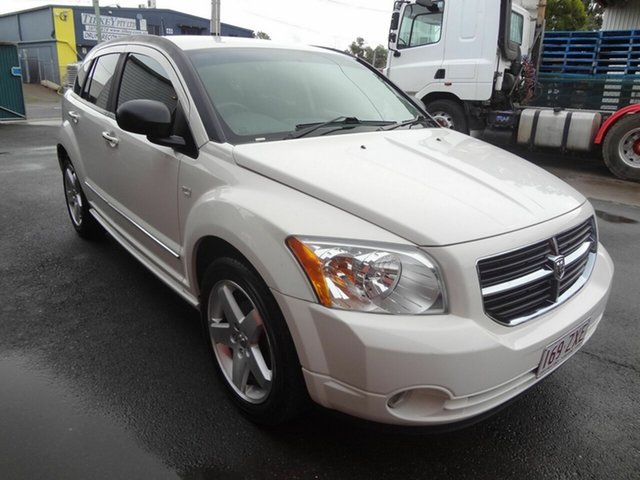Used Dodge Caliber PM R/T Coopers Plains, 2007 Dodge Caliber PM R/T White 5 Speed Manual Hatchback