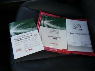 2013 Toyota Landcruiser Prado KDJ150R VX White 5 Speed Sports Automatic Wagon