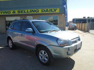 2009 Hyundai Tucson JM City SX Silver 5 Speed Manual Wagon.