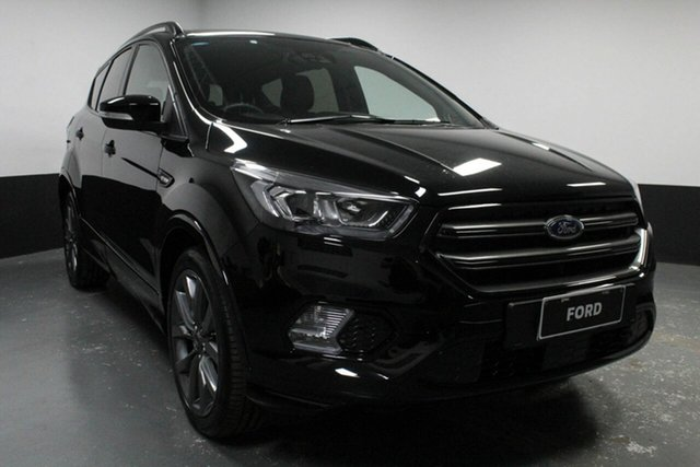 Used Ford Escape ZG 2019.25MY ST-Line AWD, 2019 Ford Escape ZG 2019.25MY ST-Line AWD Black 6 Speed Sports Automatic Wagon