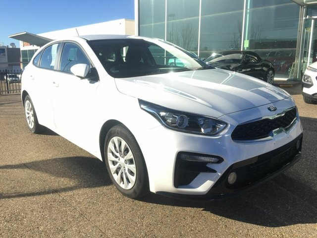 Used Kia Cerato BD MY20 S, 2019 Kia Cerato BD MY20 S White 6 Speed Sports Automatic Hatchback