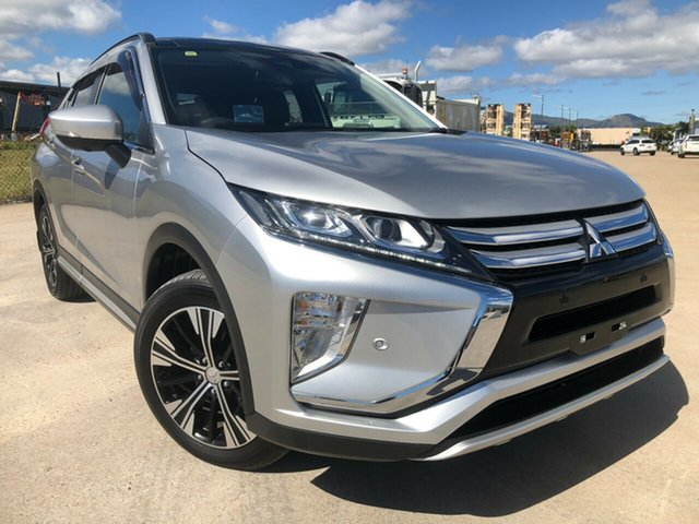 Used Mitsubishi Eclipse Cross YA MY18 Exceed 2WD, 2018 Mitsubishi Eclipse Cross YA MY18 Exceed 2WD Silver 8 Speed Constant Variable Wagon