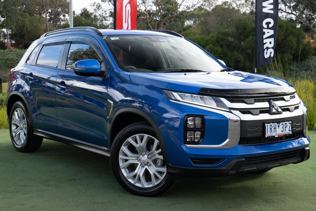 Demo Mitsubishi ASX XD MY20 LS 2WD, 2020 Mitsubishi ASX XD MY20 LS 2WD Lightning Blue 1 Speed Constant Variable Wagon