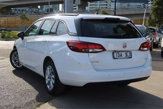 2017 Holden Astra BK MY18 LS+ Sportwagon White 6 Speed Sports Automatic Wagon.