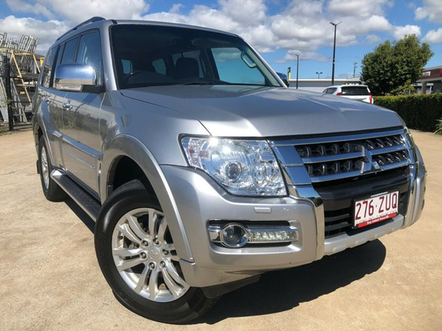 Used Mitsubishi Pajero NX MY18 Exceed, 2018 Mitsubishi Pajero NX MY18 Exceed Silver 5 Speed Sports Automatic Wagon