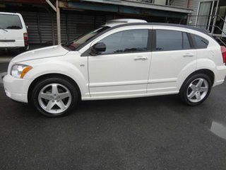 2007 Dodge Caliber PM R/T White 5 Speed Manual Hatchback.