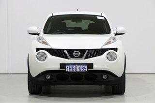 2013 Nissan Juke F15 ST (FWD) White 5 Speed Manual Wagon.