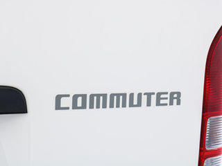 2014 Toyota HiAce KDH223R MY14 Commuter White Bus
