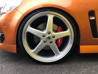 2017 Holden Commodore VF II MY17 SS V Redline Orange 6 Speed Manual Sedan