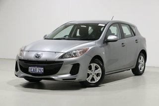 2012 Mazda 3 BL 11 Upgrade Maxx Sport Grey 5 Speed Automatic Hatchback.