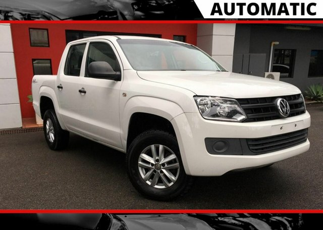 Used Volkswagen Amarok 2H MY16 TDI420 4MOTION Perm Core, 2015 Volkswagen Amarok 2H MY16 TDI420 4MOTION Perm Core White 8 Speed Automatic Utility