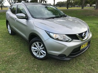 2017 Nissan Qashqai J11 ST Silver 1 Speed Constant Variable Wagon.