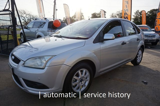 Used Ford Focus LT CL, 2008 Ford Focus LT CL Pure Silver 4 Speed Sports Automatic Hatchback