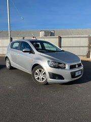 2015 Holden Barina TM MY15 CD Silver 5 Speed Manual Hatchback.