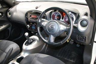 2013 Nissan Juke F15 ST (FWD) White 5 Speed Manual Wagon