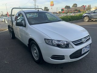 2013 Ford Falcon FG MK2 (LPi) White 6 Speed Automatic Cab Chassis