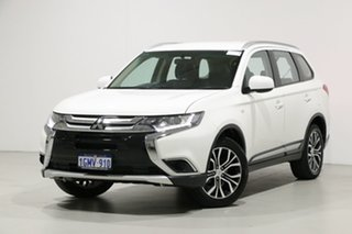 2018 Mitsubishi Outlander ZL MY18.5 ES 5 Seat (AWD) White Continuous Variable Wagon.