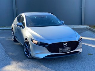 2019 Mazda 3 BP2H7A G20 SKYACTIV-Drive Touring Sonic Silver 6 Speed Automatic Hatchback