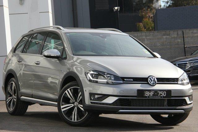 Demo Volkswagen Golf 7.5 MY20 Alltrack DSG 4MOTION 132TSI Premium Port Melbourne, 2019 Volkswagen Golf 7.5 MY20 Alltrack DSG 4MOTION 132TSI Premium Silver 6 Speed