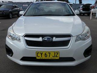 2012 Subaru Impreza G4 MY12 2.0i Lineartronic AWD White 6 Speed Constant Variable Sedan.