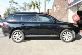 2012 Toyota Kluger GSU40R MY11 Upgrade Altitude (FWD) 7 Seat Black 5 Speed Automatic Wagon